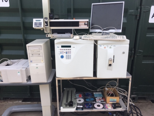 Finnigan MAT GCQ GC MS System with CTC A200S LIQUID SAMPLER, operating software and various accessor