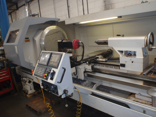 Harrison Alpha 2800XS Driven Tool CNC Lathe,  2010, s/n X7S020, Fanuc 21iTB Control, Height of centr