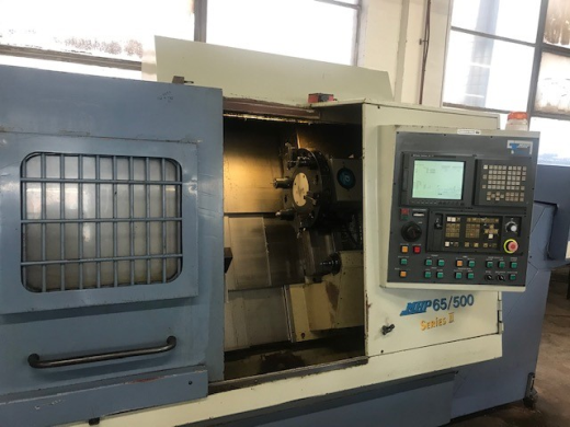 MHP65/500 Series 11, Late 1990's, Fanuc 21iT Control, 10