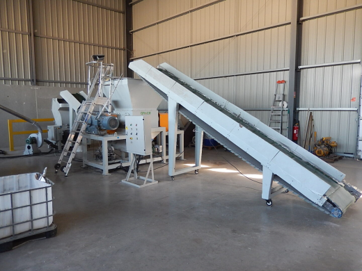 Line for plastic regranulation GRACE-M