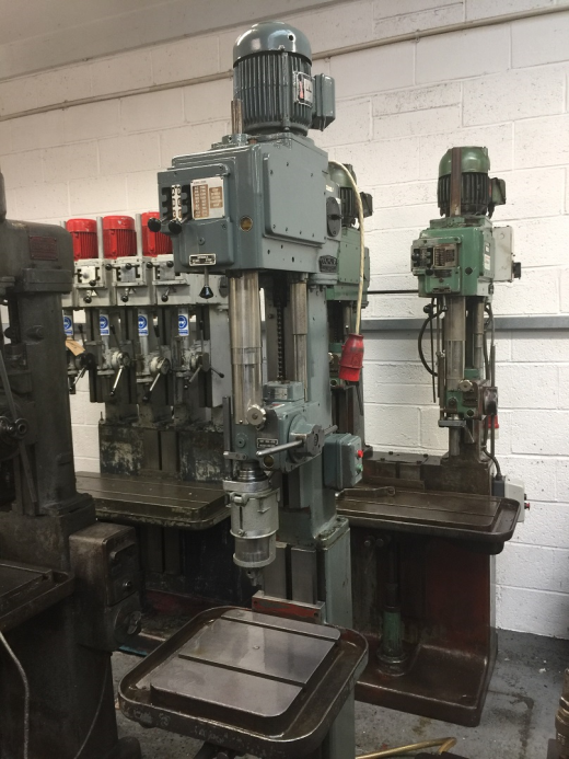 Pollard 15AY Single Spindle Drilling Machine