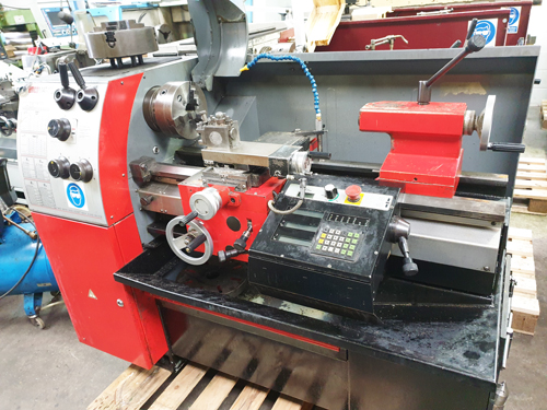 EMCO MAT 17D 340 x 700 STRAIGHT BED CENTRE LATHE 50mm Spindle Bore : Variable Speeds 35 - 3000 rpm :