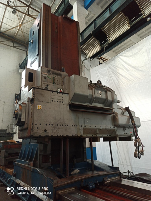 Technical details:  spindle diameter200 mm x-travel10000 mm y-travel3000 mm ram stroke1600