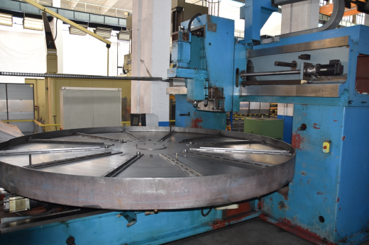 Technical details:  bore capacity in steel (diameter)50 mm max. pitch circle4300 mm number of