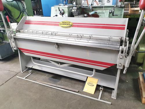 MORGAN RUSHWORTH BP80/14 BOX & PAN FOLDER Capacity 80