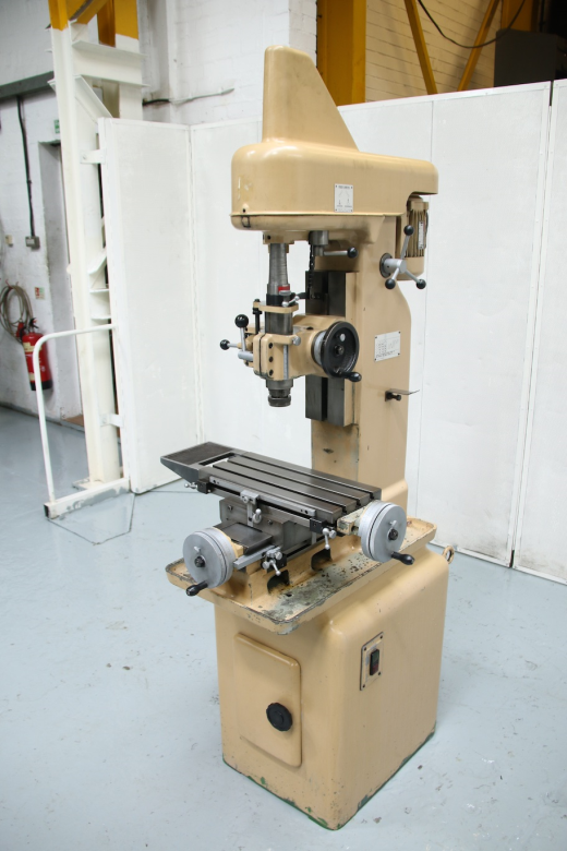 Downham Mini Borer Spindle Speeds 180 - 4000rpm T Slotted 450 X 180mm Table British Crafted - Exce