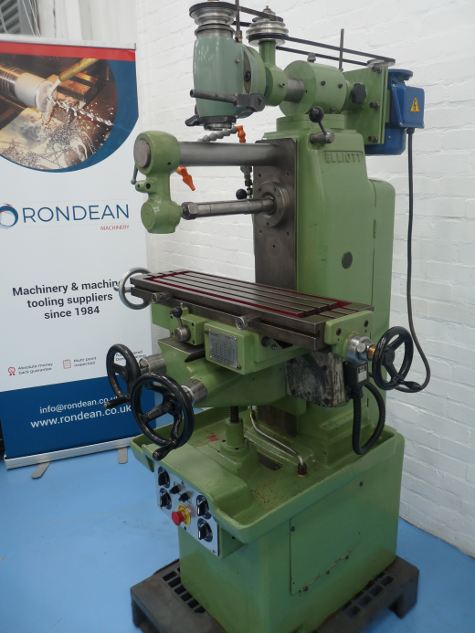 """PRICE (EX VAT)£2,750  Spindle:3 MT Spindle to Table15 11/16"""" (397mm) Quill Travel3 ½""""(8"""