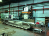 3000mm CNC Bed Miller. Auto Indexing Head.  Heidenhain TNC415 5 Axis Control. Spindle speeds 35-3000 rpm.  Table load 10,000 kgs.