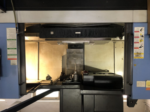 4-axis CNC Machining Center DOOSAN MYNX 750/50 4th axis Nikken cooling through spindle Year of pr