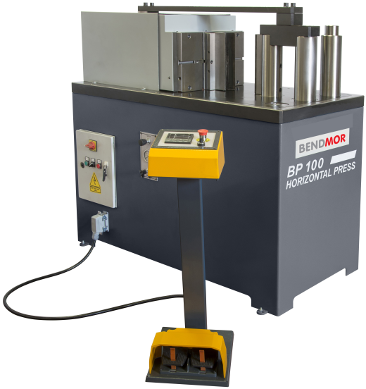 The NEW BENDMOR horizontal fabricators presses are available in a comprehensive range of models, bet