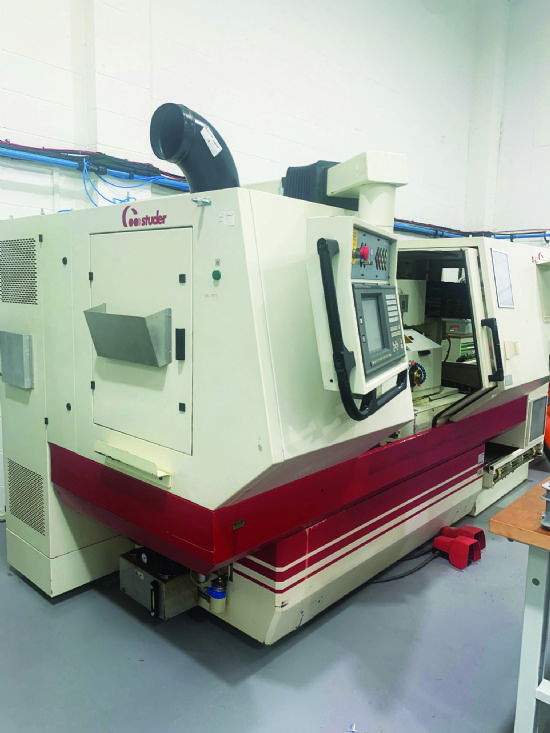 Four internal spindles, 