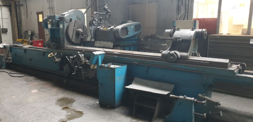 """Churchill FB Cylindrical Grinder  Capacity: 42"""" x 12' (1050 x 3600mm)    Machine with:  Linis"""