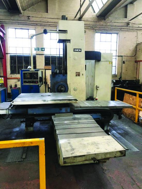 Heidenhain TNC-360 control,  1,400 x 1,250mm table, 1,000mm vertical, 1,500mm length, 1,700mm cross