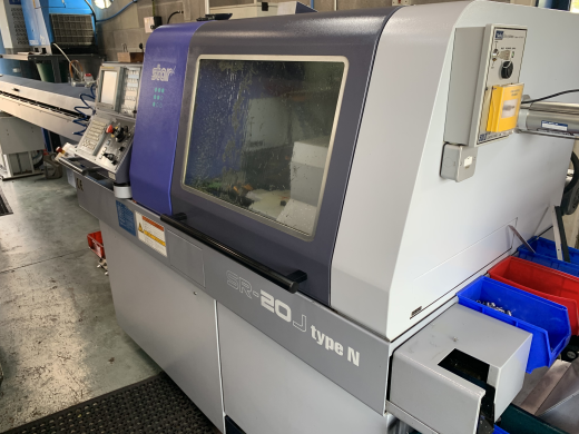 CNC Sliding Head Lathe