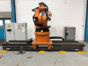 KR 150-2 6 Axis Robotic Arm with Kuka KL 1500/2  Linear Unit. Manufactured 2006