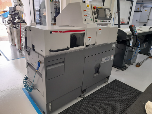 Sliding Headstock Type CNC Automatic Lathe  Fanuc Series 0i-TD Maximum machining diameter ø16mm