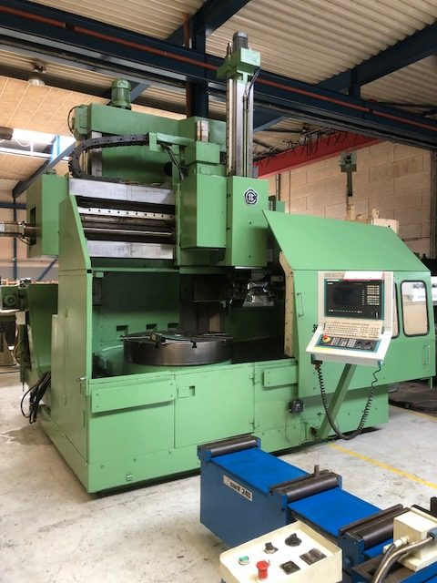 Used well-maintained SEDIN 1A 512 MF3 CNC lathe. Completely retrofitted with new Sinumeric 840D CNC