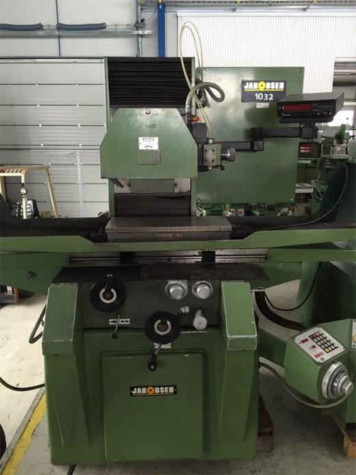 Used well kept JAKOBSEN SJ 1032 grinder prod. 1988 