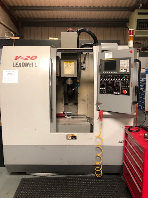 Leadwell V20 CNC Machining Centre, 2006, s/n L2TJE0486, Fanuc 0i-MC control, Travel X510, Y350, Z510