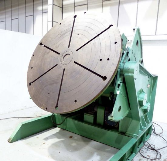 Power tilt variable speed rotation.  Machine in stock and ready for immediate Sale  Available Fo