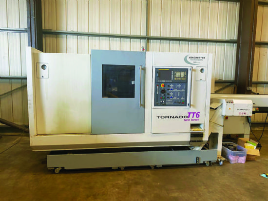Bar capacity 54mm,  max cutting dia 170mm,  max cutting length 500mm,  milling 1.5/3.7kW, 5,000rp