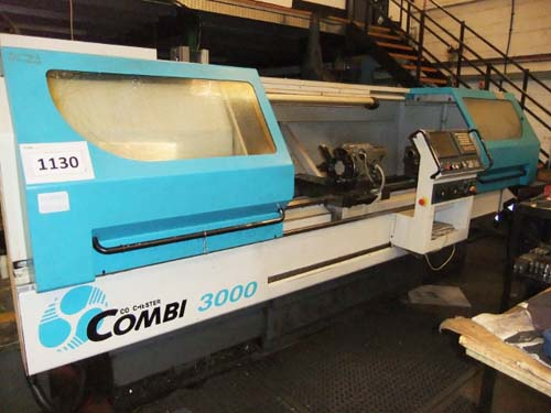 COLCHESTER COMBI 3000 460 x 2000mm CNC LATHE Between Centres : 76mm Spindle Bore : Programmable Spee