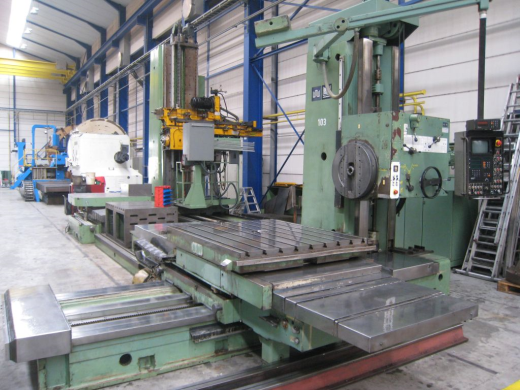 Make: union Type: horizontal-boring-mill-table-type Model: BFT 130-6 Spindle diameter (mm): 130