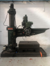 1828mm Radial Drill.  No.5 MT. Speeds 31 - 830 rpm.  With Box Table.  Serial No. P33395