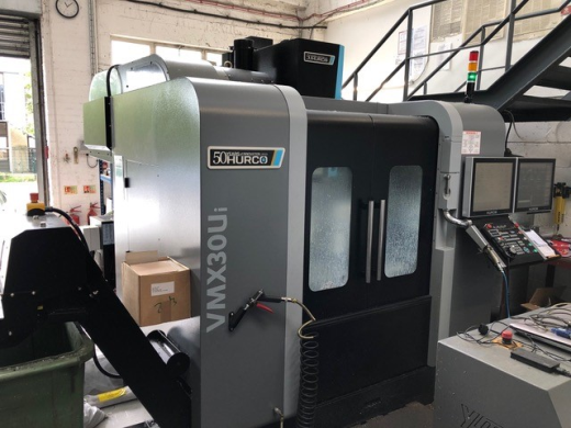 Hurco VMX30Ui, 2018, Winmax 5 control system, Table size 198mm dia, Axis movements X533, Y406 Z483mm