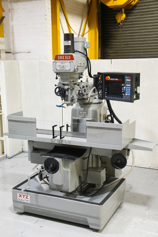 Proto Trak SMX Control  Spindle Taper ISO40 Spindle speeds to 70 - 3600 RPM Table Size 1473 x 305