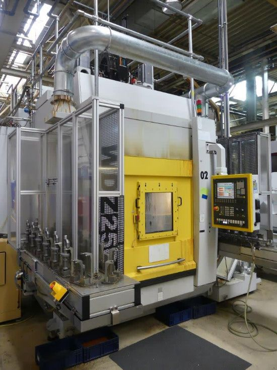 Scherer Feinbau GmbH model WDZ250 CNC vertical turning lathe (to include all product specific work p