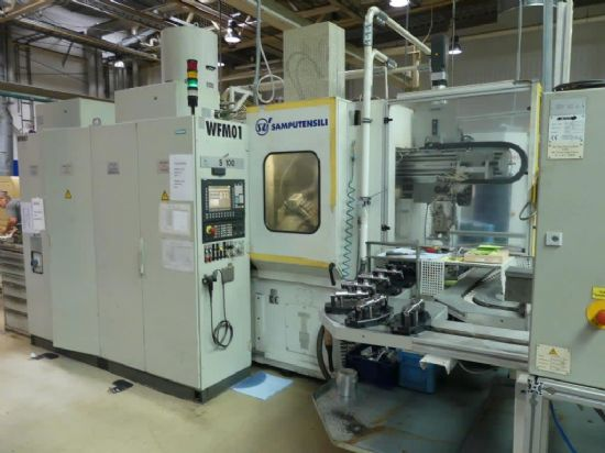 Samputensili SpA model S100 (No. 1) CNC gear hobbing machine (to include all product specific work p