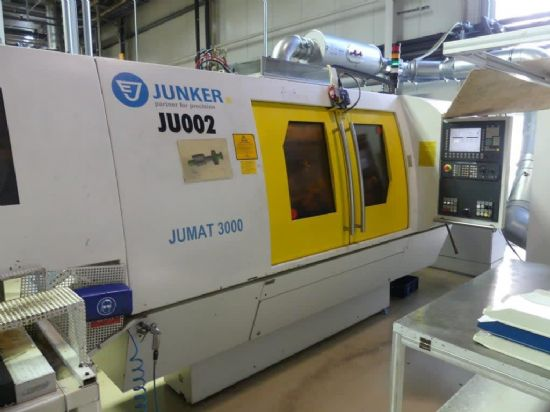 Erwin Junkers Maschinenfabrik GmbH model Jumat 3000/50 (No. 1) CBN external grinding machine (to inc
