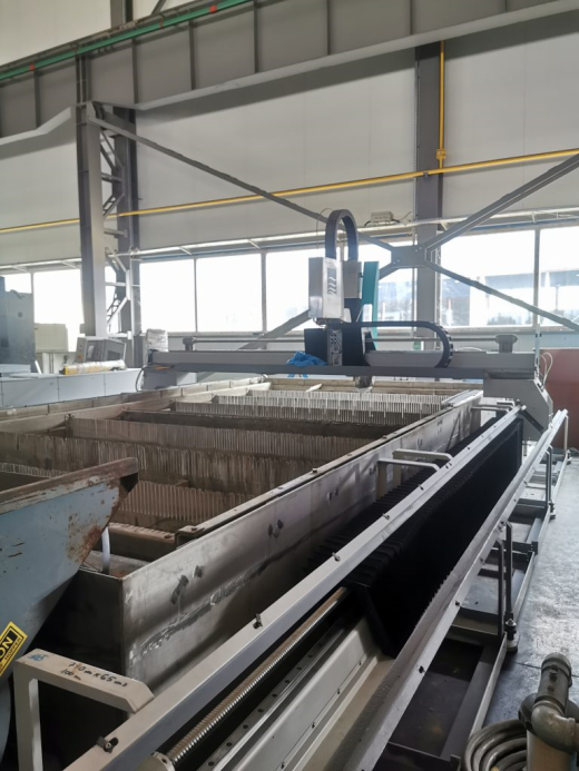 CNC Water Jet Machine FLOW WMC2-3060, dynamic head