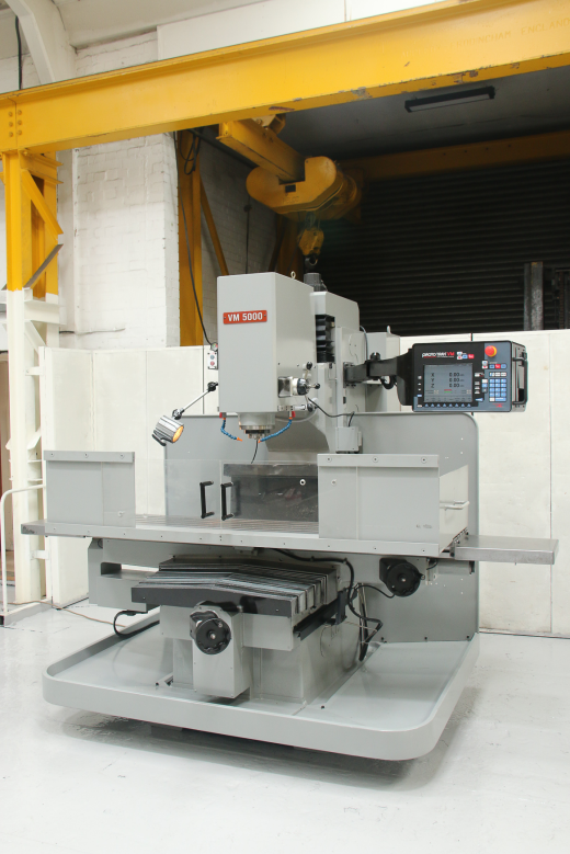 XYZ VM5000 3 Axis CNC Bed Mill