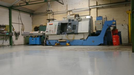 CNC Turn/Mill Centre  Mazatrol Fusion 640 MT 5X Max machining ø 540 mm Max swing over carriage 3