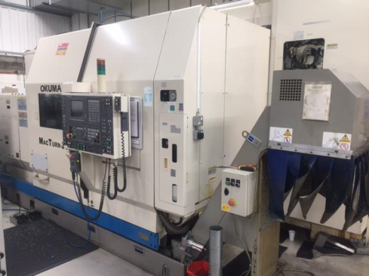 OKUMA MACTURN 30 CNC TURNING MACHINE