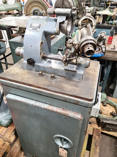 ALEXANDER 2CGC TOOLROOM CUTTER GRINDER Cabinet Stand : 7 Collets.