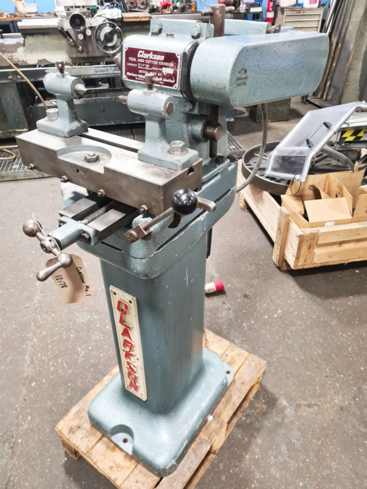 CLARKSON Mk.1 TOOL & CUTTER GRINDER Capacity 12