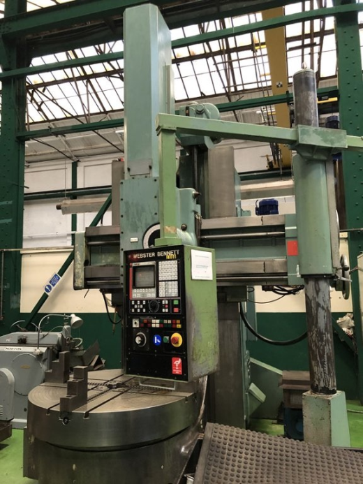 Control Fagor 802S T9  Table diameter 1400 mm  Max. Workpiece diameter 1600 mm  Max. Height from