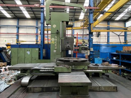 Manufacturer : SACEM Model : MST 130/CN Year :1988 CNC : HEIDENHAIN TNC 155 Quill Diameter :130