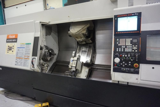 Mazak Integrex 400III Multitasking CNC Mill/Turning Centre Mazatrol 640 MT Pro CNC Control System